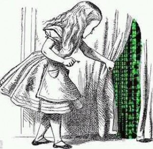 Alice in wonderland matrix dream