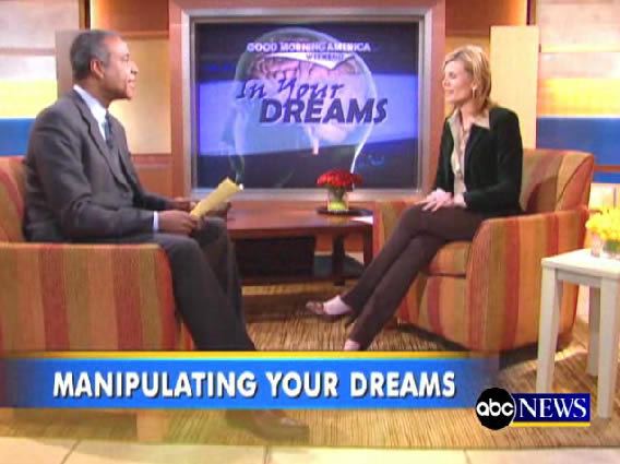 Good Morning America talk about Lucid Dreaming