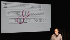Tim Post Talking about Eye Movement EEG