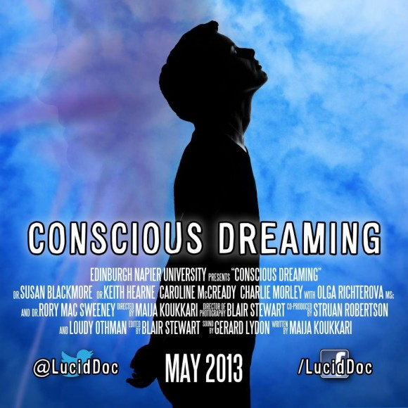 conscious dreaming documentary flyer